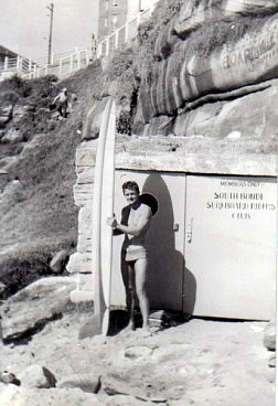 "Barry ""Magoo"" McGuigan, South Bondi, ca. 1959."