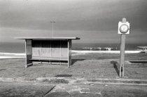The bus stop at South Bondi. Photo: Bill Pfeifer.
