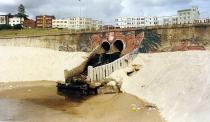 Stormwater drain at South Bondi. Photo courtesy of Waverley Library.