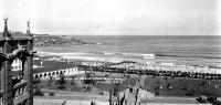 View of Bondi Beach from the Bondi Hotel