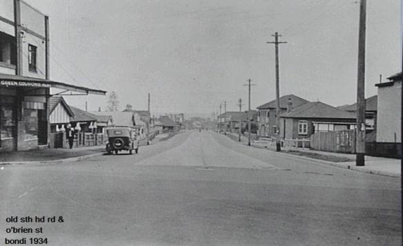 old south head and o'brien streets 1930's