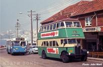 Buses at North Bondi 1971